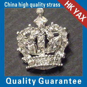 1 pc. Rhinestone CRYSTAL CROWN PIN