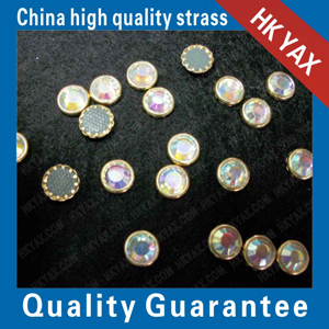 AAAAA hotfix rimmed stones made in china