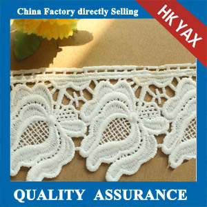 Manufactorer chemical embroidery trimming lace