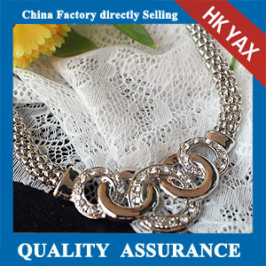 N166 silver plated necklace factory selling china