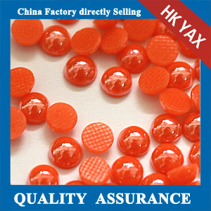 ceramic hot fix half pearl beads