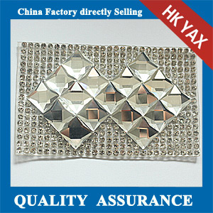 Yax-A 003 new arrival hotfix rhinestone patches