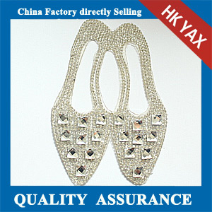 Yax-A005 China supplier rhinestone patches