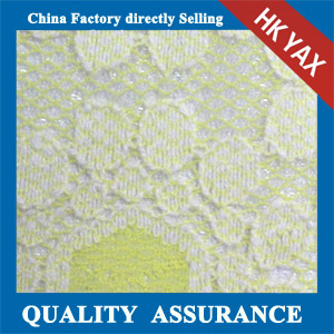 YAXL 16027 two tone color lace fabric