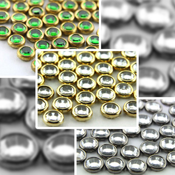 Hot fix ring stones,hot fix ring crystal,hotfix rhinestone,hotfix ringstone,hotfix rimmed stone,metal ring stone