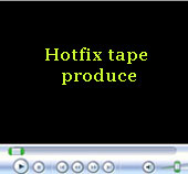 hotfix tape produce video