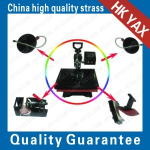 As a combination of five heat press machine tool