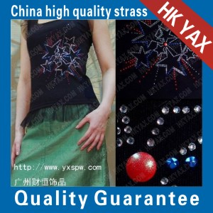 T-shirt fashion hot fix motif