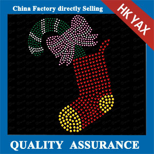 YAXS-3 Chrismas Sock Heat Transfer