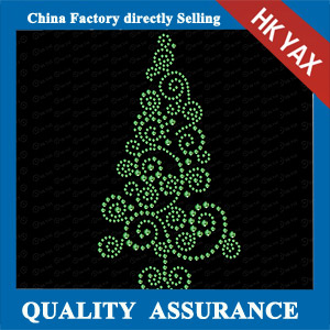 YAXS-25 Christmas Tree Motif Design