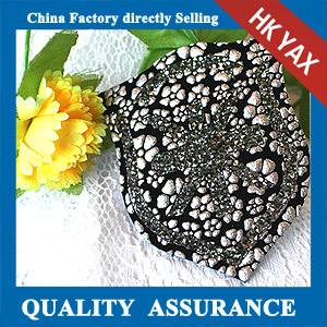 YAX-C048 rhinestone hot fix patch China supplier