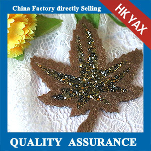 YAX-C047 China supplier rhinestone hot fix patch