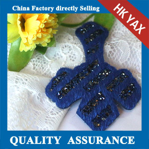 YAX-C049 China factory rhinestone patch
