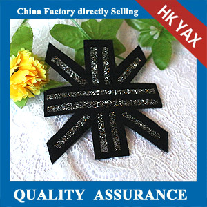 YAX-C051 china supplier rhinestone hotfix patch
