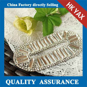 YAX-C075 rhinestone patch transfer