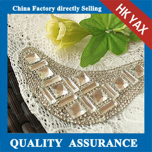 YAX-C076 garment rhinestone patch