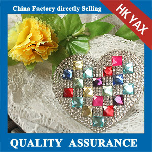 YAX-C059 hot fix rhinestone motif patch
