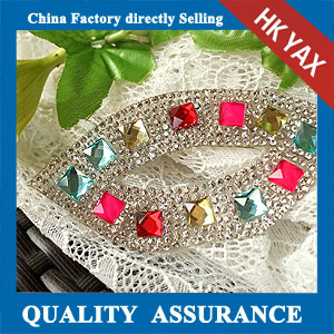 YAX-C082 crystal applique patch