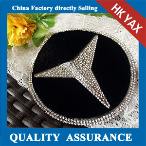 YAX-C093 flatback rhinestone patches