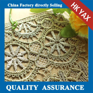 factory price water soluble lace trimming