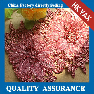 New design water soluble lace trim