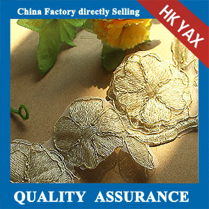 water soluble new flower lace trim