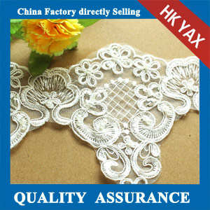 Factory price walter soluble lace trim