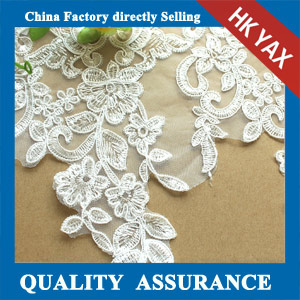 Manufacturer embroidery lace trimming