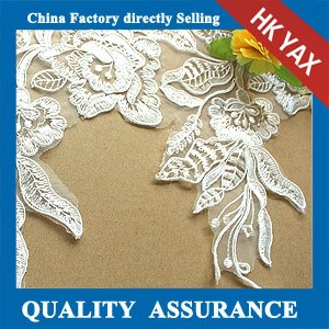 China factory embroidery lace trim wholesale