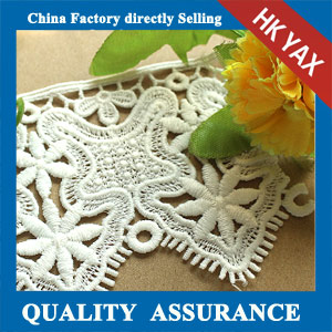 china latest design embroidery trimming lace
