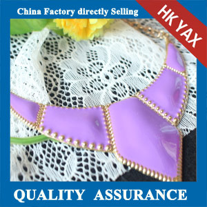 N119 fashion purple necklace for girl china sale