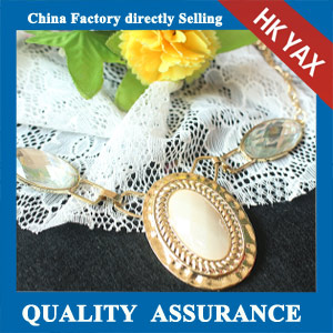 N133 Large stone necklace China factory