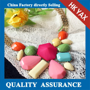 N143 multicolor beaded chocker necklace cheapest