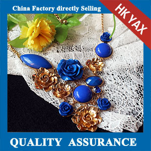 N150 Amazing floral necklace for lady supply china
