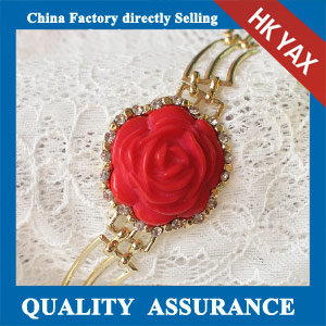 N170 red rose bracelet for girls china cheap price