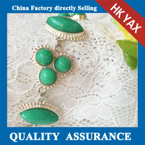 N171 beautiful green beads bracelet china produce