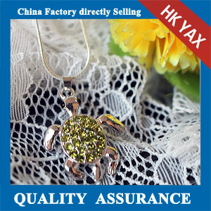N183 china rhinestone animal necklace pendange