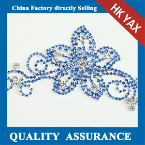 M307 Charmming rhinestone flower chain