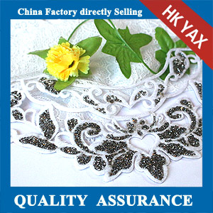 YAX-D014 Flower Resin Stone Patches