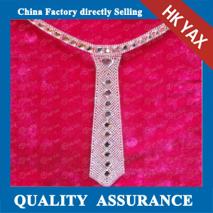 YAX-D001 Tie Rhinestone Patches
