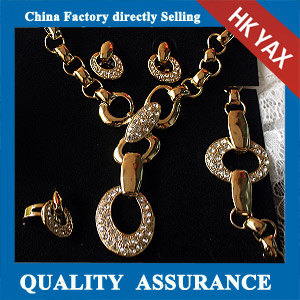 N010 fashion jewelry necklace set