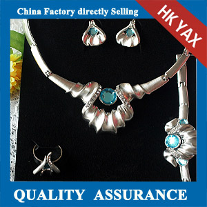 N022 crystal jewelry necklace set