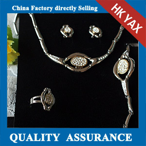 N028 earring and necklace set wholesale