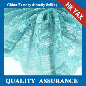YAXL 37570 Enviromental friendly blue lace trim