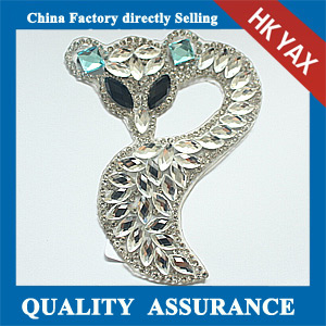 Yax-A004 New arrival rhinestone patches