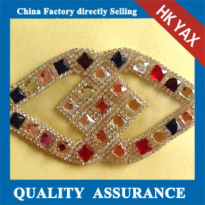 Yax-B020 China manufacturer rhinestone patches