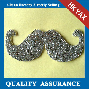 Yax-B022 China supplier fashion rhinestone patches