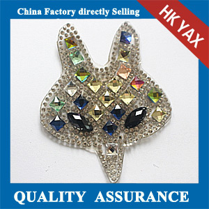 Yax-C002 Animal shpae rhinestone patches