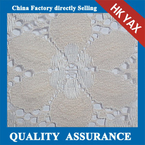 YAXL 15025 lace fabric flower design