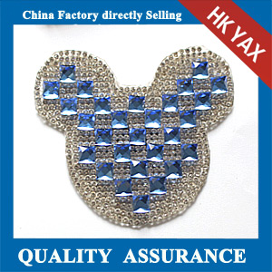 Yax-C005A Mickey head Chaton transfer motifs